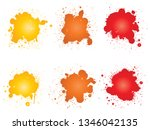 vector collection of artistic... | Shutterstock .eps vector #1346042135