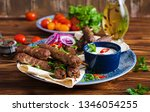 turkish and arabic traditional... | Shutterstock . vector #1346054255