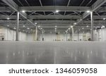 large modern empty storehouse.... | Shutterstock . vector #1346059058
