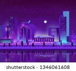 modern city new district on... | Shutterstock .eps vector #1346061608
