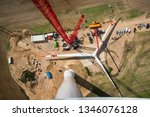 Assembled Rotor Blades Of A...