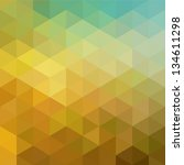 colorful geometric background... | Shutterstock .eps vector #134611298