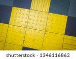 blind's road texture | Shutterstock . vector #1346116862