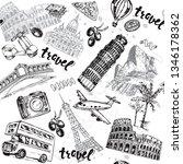 hand drawn sketch illustration...   Shutterstock .eps vector #1346178362