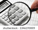 businessman working and... | Shutterstock . vector #1346193005