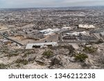 El Paso Texas As Seen From The...