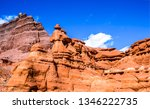 red rock canyon mountains view. ... | Shutterstock . vector #1346222735