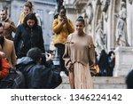 paris  france   march 04  2019  ...   Shutterstock . vector #1346224142
