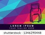 vector illustration rainbow...   Shutterstock .eps vector #1346290448