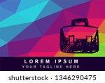 vector illustration rainbow...   Shutterstock .eps vector #1346290475