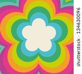 Rainbow Flower Power Cover...