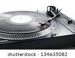 analog music player | Shutterstock . vector #134635082