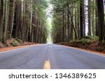 view of a road passing through... | Shutterstock . vector #1346389625