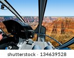 grand canyon   helicopter flight | Shutterstock . vector #134639528