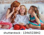 childhood  leisure and family... | Shutterstock . vector #1346523842