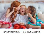 childhood  leisure and family... | Shutterstock . vector #1346523845