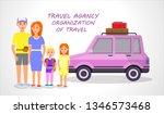 travel agency. organization of... | Shutterstock .eps vector #1346573468