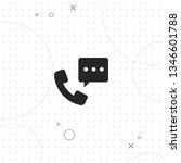 call  communication  vector... | Shutterstock .eps vector #1346601788