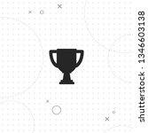 trophy  cup  vector best flat... | Shutterstock .eps vector #1346603138