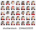 business people icons | Shutterstock .eps vector #1346610335