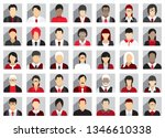 business people icons | Shutterstock .eps vector #1346610338