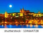 Prague Castle In The Evening ...