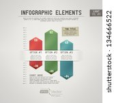 detailed colorful infographic... | Shutterstock .eps vector #134666522