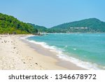 wild shore in the south of bai... | Shutterstock . vector #1346678972