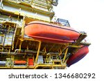 asia oil and gas offshore... | Shutterstock . vector #1346680292