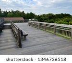birdwatching platform at cape... | Shutterstock . vector #1346736518