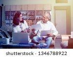 senior indian asian couple... | Shutterstock . vector #1346788922