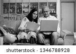 senior indian asian couple... | Shutterstock . vector #1346788928