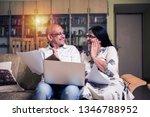 senior indian asian couple... | Shutterstock . vector #1346788952