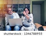 senior indian asian couple... | Shutterstock . vector #1346788955