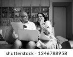 senior indian asian couple... | Shutterstock . vector #1346788958