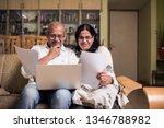 senior indian asian couple... | Shutterstock . vector #1346788982