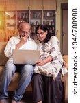 senior indian asian couple... | Shutterstock . vector #1346788988