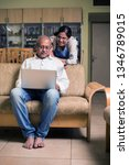 senior indian asian couple... | Shutterstock . vector #1346789015