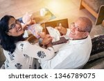 senior indian asian couple... | Shutterstock . vector #1346789075