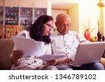 senior indian asian couple... | Shutterstock . vector #1346789102