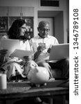 senior indian asian couple... | Shutterstock . vector #1346789108