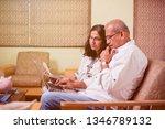 senior indian asian couple... | Shutterstock . vector #1346789132
