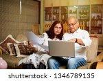 senior indian asian couple... | Shutterstock . vector #1346789135