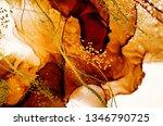 Exotic Art. Golden Swirl ...