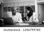senior indian asian couple... | Shutterstock . vector #1346799785
