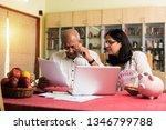 senior indian asian couple... | Shutterstock . vector #1346799788