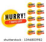 number of days left promotional ... | Shutterstock .eps vector #1346803982