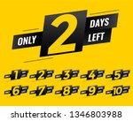promotional number of days left ... | Shutterstock .eps vector #1346803988