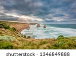 dramatic coastline at gibson... | Shutterstock . vector #1346849888