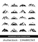 mountain icon collection  20... | Shutterstock .eps vector #1346881565